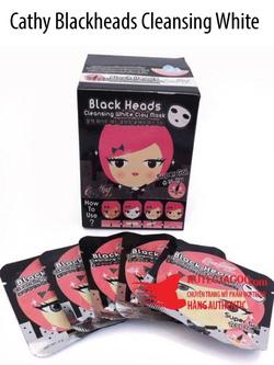 Ảnh số 28: Cathy Blackheads Cleansing White Clay Mask - Mặt nạ lột mụn đầu đen trắng da Cathy Doll - Giá: 20.000