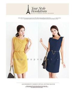 Ảnh số 63: Phong cách thời trang, màu vàng + xanh đen - Giá: 290.000
