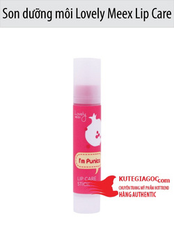 Ảnh số 51: Son dưỡng môi Lovely Meex Lip Care Stick 01 Punica The Face Shop - Giá: 112.000