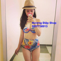Ảnh số 82: Bikini cạp cao vintage - Giá: 350.000