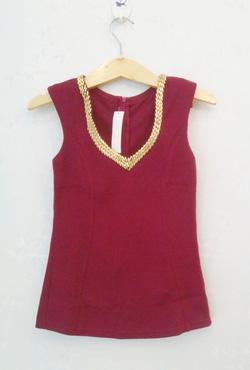 ?nh s? 23: Áo thun body màu đỏ mận_MS 2899 - Giá: 190.000