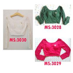 Ảnh số 46: Áo crop top ren Chanel MS:3028 - Giá: 210.000