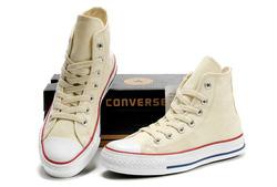 Ảnh số 40: Giày Converse Classic vàng kem cao cổ - Giá: 220.000