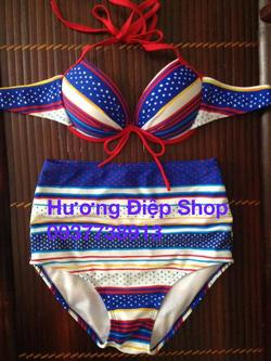 Ảnh số 90: Bikini cạp cao vintage - Giá: 350.000
