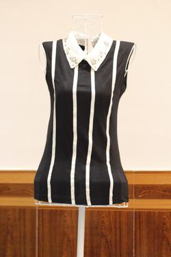 Ảnh số 11: Áo phông kẻ 4 sọc - Giá: 190.000