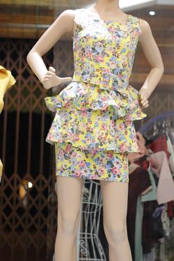 Ảnh số 15: Bộ rời áo peplum + chân váy peplum - Giá: 500.000