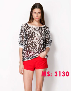 ?nh s? 60: Áo thun leopard ZARA Mã số:3130 - Giá: 220.000