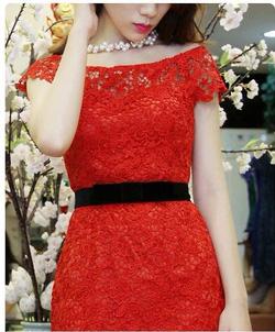 Ảnh số 6: Váy ren cao cấp TK16 - Giá: 950.000