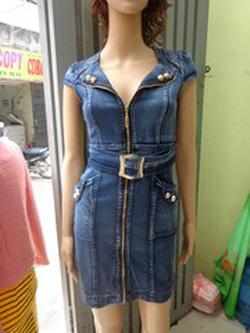 Ảnh số 25: Váy Jean - Giá: 450.000