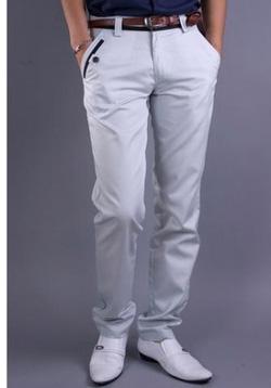 Ảnh số 6: quần kaki nam ống côn hàn quốc - Giá: 170.000