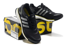 Ảnh số 76: Giày thể thao nam Adidas Energy Boost đen sọc trắng B103 - Giá: 1.480.000