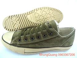 Ảnh số 96: Giày Converse da lộn mới - Giá: 650.000
