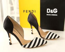 Ảnh số 64: Giày sọc đen trắng sành điệu GCG064 - Giá: 600.000