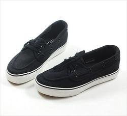 Ảnh số 78: Giày VANS Lười màu Đen size từ 36 đến 44 - Giá: 300.000