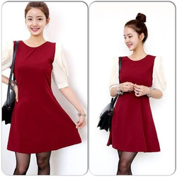 Ảnh số 51: Váy đỏ tay tắng 280k - Giá: 280.000