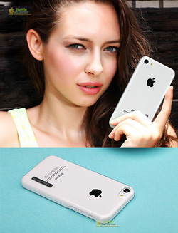 Ảnh số 62: Case trong suốt iphone 5C Rock Ethereal Shell - Giá: 190.000
