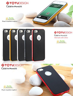 Ảnh số 64: Case iphone 5 và 5S TOTU Design Hybrid - Giá: 300.000