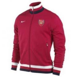 Ảnh số 3: Áo khoác nam thể thao Arsenal đỏ đun - Giá: 250.000