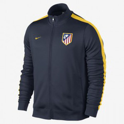 Ảnh số 5: Áo khoác nam thể thao Atletico Madrid đen - Giá: 160.000