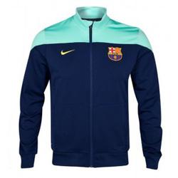 Ảnh số 6: Áo khoác nam thể thao Barcelona Xanh - Giá: 250.000