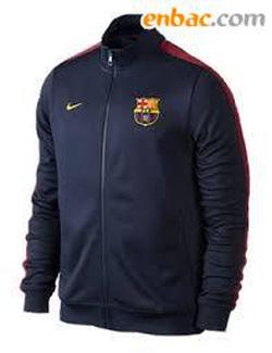 Ảnh số 17: Áo khoác nam thể thao barcelona đen - Giá: 250.000