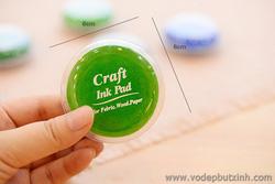 Ảnh số 40: Mực dấu mực in vân tay Craft Ink Pad tròn K0916 - Giá: 20.000