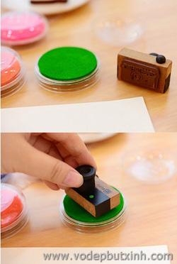 Ảnh số 42: Mực dấu mực in vân tay Craft Ink Pad tròn K0916 - Giá: 20.000