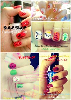 Ảnh số 22: stamping nail art - Giá: 20.000