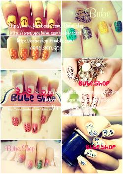 Ảnh số 23: stamping nail art - Giá: 20.000