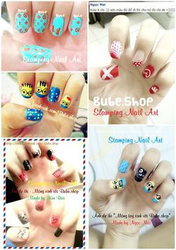 Ảnh số 24: stamping nail art - Giá: 20.000