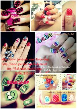 Ảnh số 25: stamping nail art - Giá: 20.000