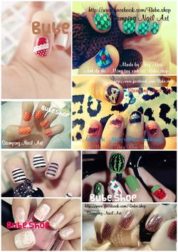 Ảnh số 26: stamping nail art - Giá: 20.000