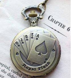 Ảnh số 42: DCDH 130_Đồng hồ quả quýt lá bài (ĐK: 5cm) - Giá: 120.000