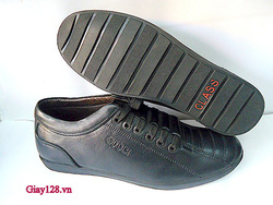 Ảnh số 48: Giày da Gucci đen - Giá: 600.000
