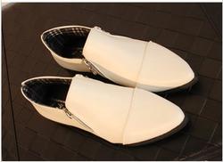 Ảnh số 90: Giày boot cổ ngắn 2 dây kéo - Giá: 200.000