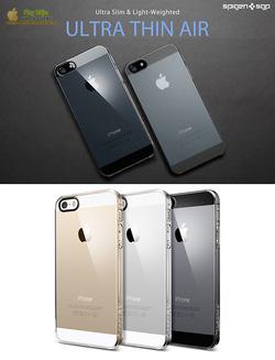 Ảnh số 3: Case trong suốt iphone 5 SGP Ultra Thin Air - Giá: 490.000