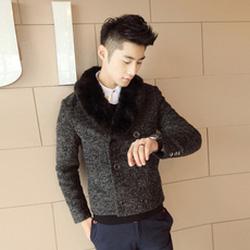 Ảnh số 19: Áo Măng tô dạ dáng ngắn, lông vũ - Giá: 950.000