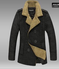 Ảnh số 2: Áo Măng tô dạ dáng dài - Giá: 1.200.000