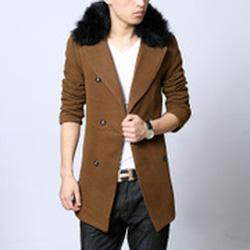 Ảnh số 11: Áo Măng tô dạ dáng dài, lông vũ - Giá: 1.400.000