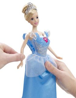 Ảnh số 1: (Disney Princess) Búp bê lọ lem và 2 bộ đầm thời trang - Giá: 350.000