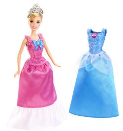Ảnh số 10: (Disney Princess) Búp bê lọ lem và 2 bộ đầm thời trang - Giá: 350.000
