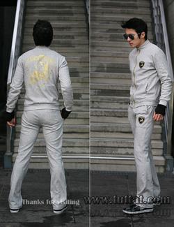 Ảnh số 9: BN1555 Bộ nỉ thể thao nam giới lamborghini lót lông chất mềm đẹp - Giá: 690.000