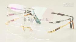 ?nh s? 96: Cartier eyewear glasses 3139903 Rimless Pure Titanium glasses - Giá: 850.000