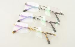 ?nh s? 93: Cartier eyewear glasses 3139903 Rimless Pure Titanium glasses - Giá: 850.000