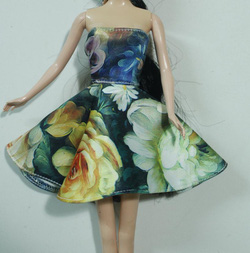 ?nh s? 3: váy xòe họa tiết hoa - Giá: 30.000