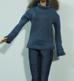 ?nh s? 7: áo ấm mùa đông màu xanh - Giá: 20.000