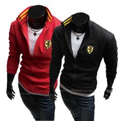 Ảnh số 76: Khoác nỉ Ferrari (còn đỏ) - Giá: 290.000
