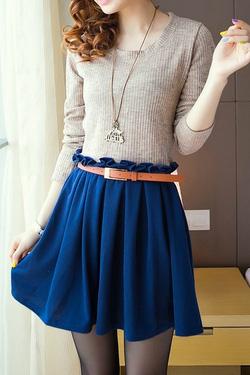 Ảnh số 17: Áo khoác da / Size: M, L / Màu: Xanh, Nâu, Đen / Xuất xứ Made in Korea - Giá: 450.000
