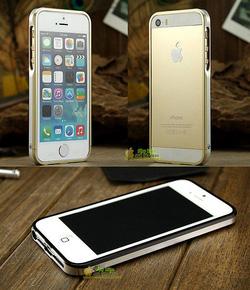 Ảnh số 6: Viền Kim loại iphone 5s LJY Sword Double Color - Giá: 550.000