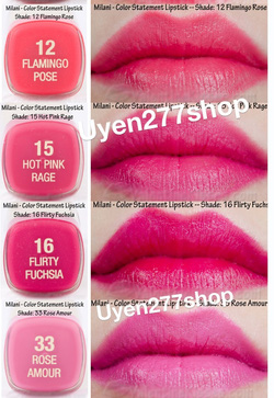 ?nh s? 62: Son milani color statement - Giá: 140.000